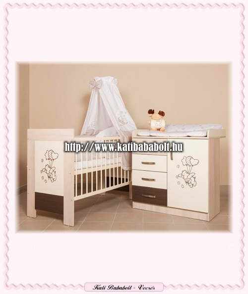 Kinder Möbel BONANZA II. babaszoba - Bababútor   Komplett termék család -  Kati Bababolt Vecsés a307bf268e